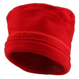 Banded Fleece Winter Cap-Red