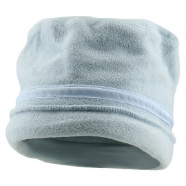 Banded Fleece Winter Cap-Light Blue