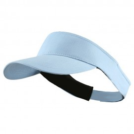 Brushed Cotton Sunvisor - Lt Blue