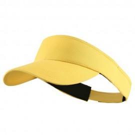 Brushed Cotton Sunvisor - Yellow
