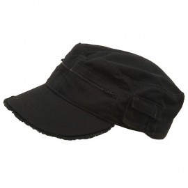 Zippered Enzyme Army Cap