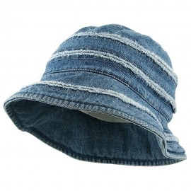 Youth Denim Stripe Bucket Hat