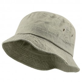 Big Size Washed Hat - Beige