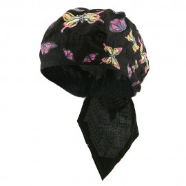 Beach Series Headwrap-Mixed Butterfly