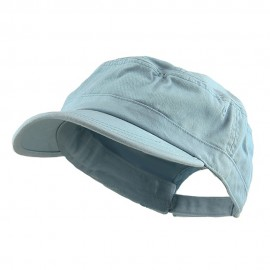 Enzyme Regular Solid Army Caps-Lt Blue