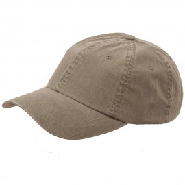 Pigment Dyed Special Cotton Cap-Olive