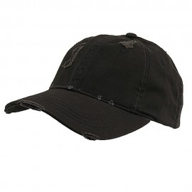 Low Profile Washed Cotton Twill Cap-Navy