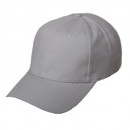 New Deluxe Cotton Caps-Cool Grey