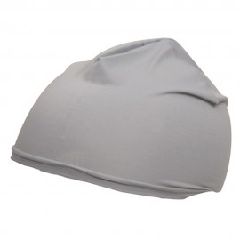 Nylon Skull Cap-Grey
