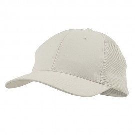 Cotton Mesh Cap-White