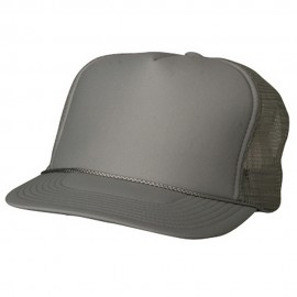 Foam Mesh Cap-Grey