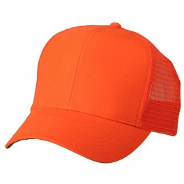 High Visibility 6 Panel Mesh Cap