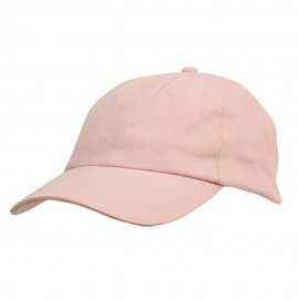 6 Panel Light Cotton Cap / Pink
