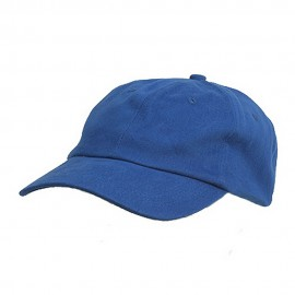 6 Panel Light Cotton Cap / Royal