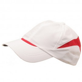 Low Profile Moisture Absorbing Cap-White Red