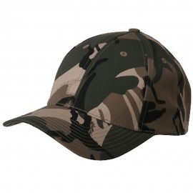 Camouflaged Cap-Safari