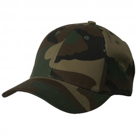 Camouflaged Cap