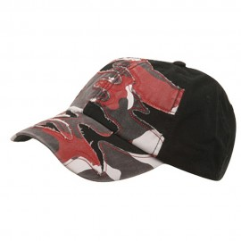 Patched Enzyme Cap-Red Camo