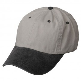 Pigment Dyed Wash Cap-Beige Black