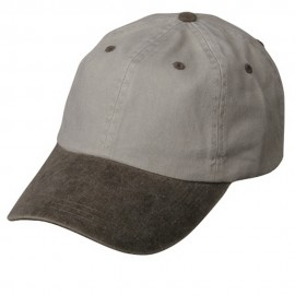 Pigment Dyed Wash Cap-Beige Brown