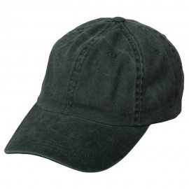 Pigment Dyed Wash Cap-Dk Green