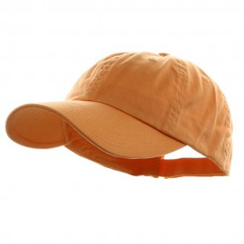 Low Profile Dyed Cotton Twill Cap - Peach