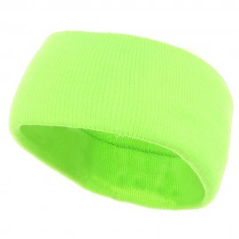 Safety Head Band - Fluorescent Green