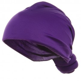 Handmade Knotted Wrap-Purple