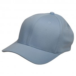 Wooly Combed Twill Flexfit Cap-Blue