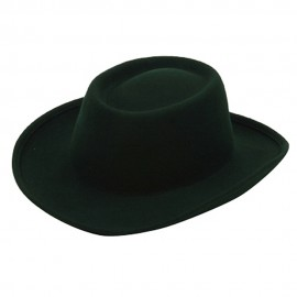 Women's Gambler Felt Hat-Green