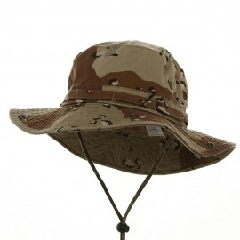 Big Size Washed Hunting Hats -Desert