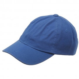 Kid's Bio Washed Polo Cap-Royal