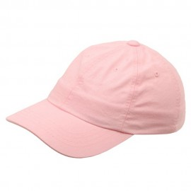 Kid's Bio Washed Polo Cap-Pink