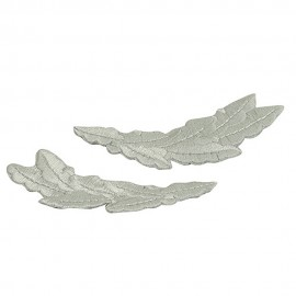 Oak Leaves Emblem Pair