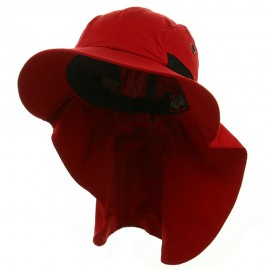 UV 45+ Extreme Condition Flap Hats -Red