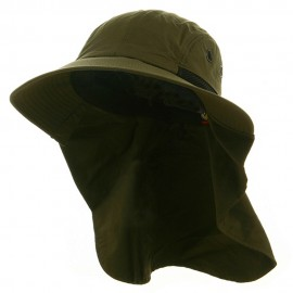 UV 45+ Extreme Condition Flap Hats -Olive