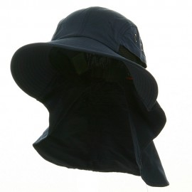 UV 45+ Extreme Condition Flap Hats -Navy