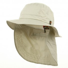 UV 45+ Extreme Vacationer Flap Hats-Stone