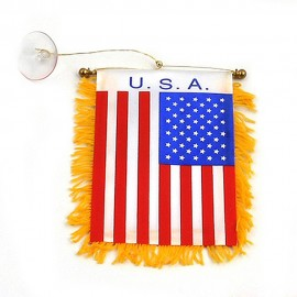 World Mini Banner-USA