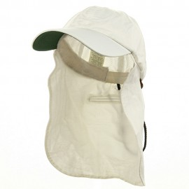 UV 45+ Zipper Flap Hats