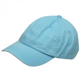 Youth Washed Chino Twill Cap-Blue