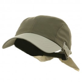 UV Ladies Moisture Absorbing Sweatband Cap - Olive Stone
