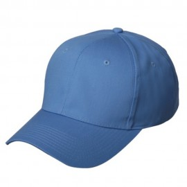 New High Profile Twill Cap-Sky Blue