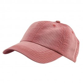 Low Profile Pine Stripe Cotton Washed Cap