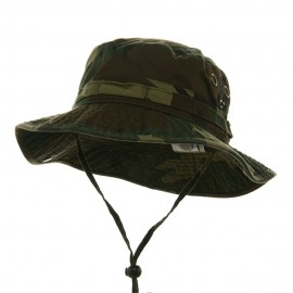 Washed Hunting Hat-Camo