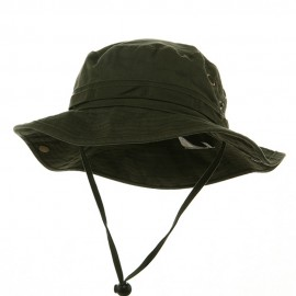 Washed Hunting Hats-Olive