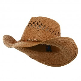 Outback Toyo Cowboy Hat-Brown