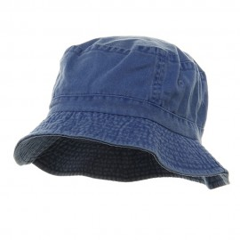 Pigment Dyed Bucket Hat-Royal