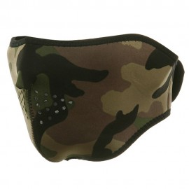 Neoprene Half Face Mask - Woodland