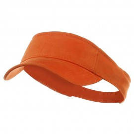 Kids Deluxe Cotton Visor-Orange